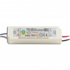 Alimentation led étanche IP67 12V 100W POS Power