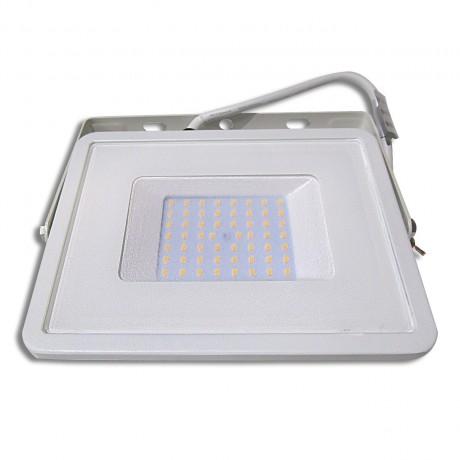 Projecteur led 50W blanc extra plat