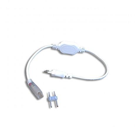 Câble alimentation redresseur pour néon flex led 220V