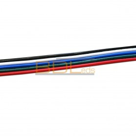 Câble/nappe 5 fils pour ruban led RGBW