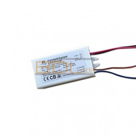 Alimentation led à Courant constant 300ma max 13w 30-42V IP65