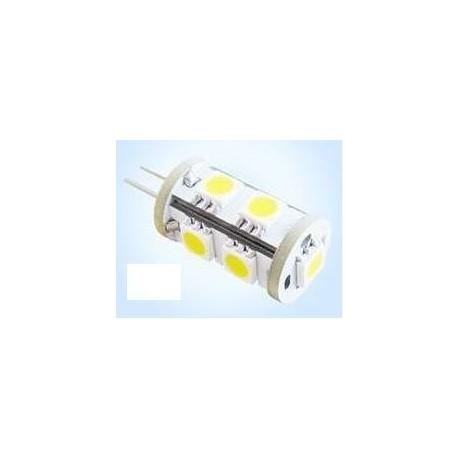 Ampoule G4 9 led smd 5050 blanche 360°