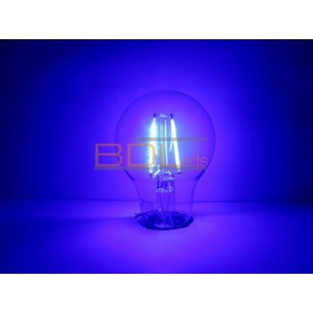 Ampoule led bleu E27 2 watts