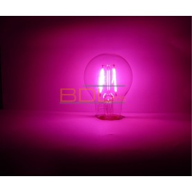 Ampoule led filament rose E27 2 watts