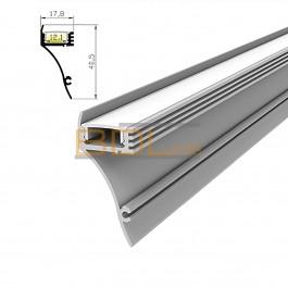Profilé LED BDL4018 de corniche type lèche-mur