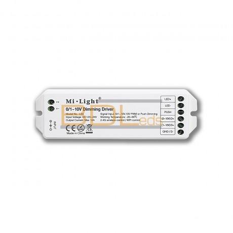 Module variateur led 12/24V - 0/1~10V ou bouton poussoir