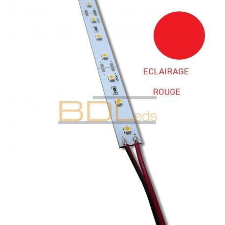 Ruban led rigide rouge 99 cm
