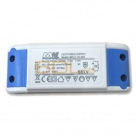 Alimentation LED MPLC-16-350 16W 350mA 23V-46V IP20