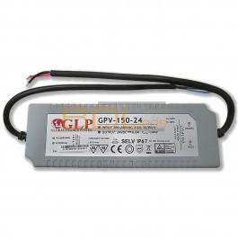 Alimentation LED 144W 24V étanche GPV-150-24