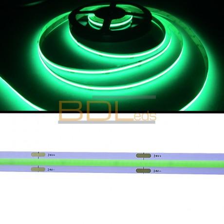 Ruban led COB vert 525 nm 24V