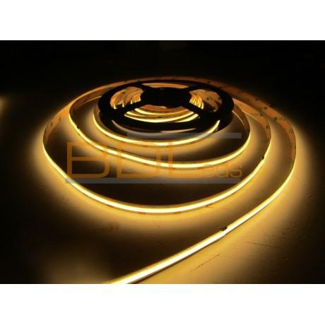 Ruban LED COB 15W/m IRC90 blanc chaud