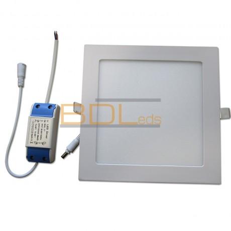Plafonnier led carré 17X17 12W