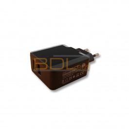 Bloc alimentation sur prise 5V 15W dual USB