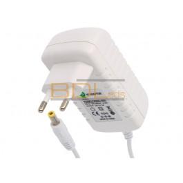Bloc alimentation led blanc sur prise 12V 24W