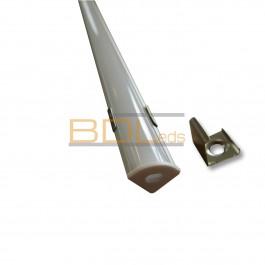 Profil aluminium BDL1010 angle pour ruban extra fin