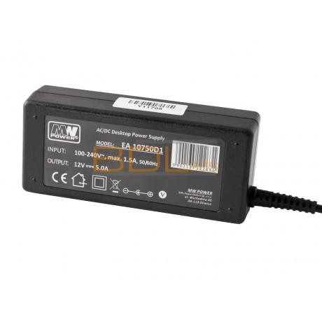 Bloc alimentation LED 60W 12V