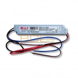 Alimentation LED 700 mA 2-12V 8.4 watts max