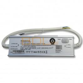 Alimentation LED 12V IP65 216W dimmable avec potentiomètre pour tension et ampérage