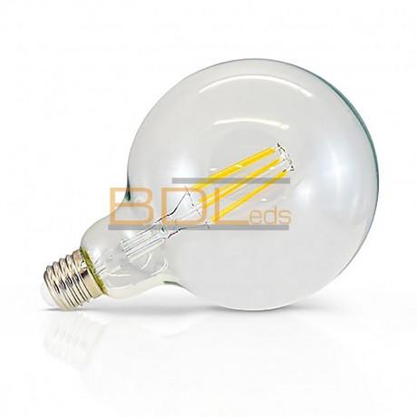AMPOULE LED E27 G125 FILAMENT 8W 2300K