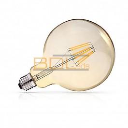 AMPOULE LED E27 G125 FILAMENT 4W 2700K GOLDEN