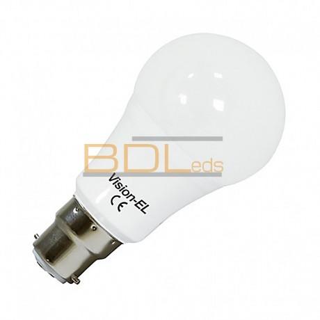 Ampoule bulbe LED B22 10W 3000°K IP40