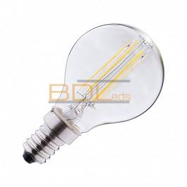 Ampoule LED E14 Filament P45 3W 2700K Blister x 2