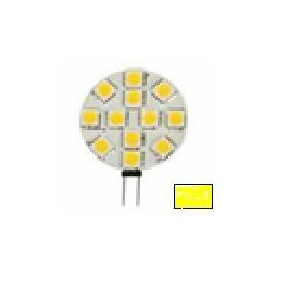 Ampoule G4 12 LED smd blanc chaud