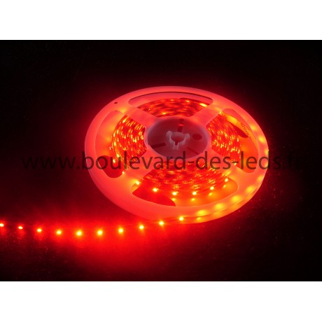 Ruban led souple rouge