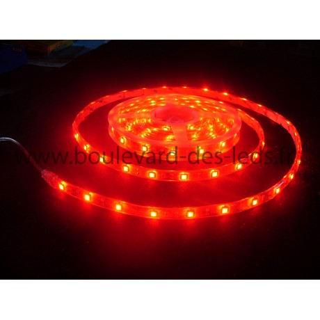 Bandeau à led rouge waterproof