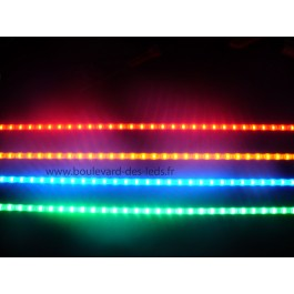 Réglette led de 58 cm rouge bleu vert orange