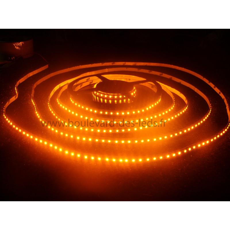 ruban led orange 120leds m tre. Black Bedroom Furniture Sets. Home Design Ideas