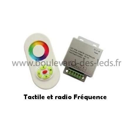 Contrôleur led RGB télécommande tactile Radio