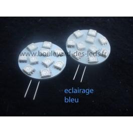 Led g4 bleu