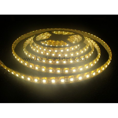 Bandeau led blanc chaud smd 5050