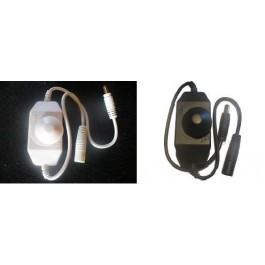 Variateur pour ruban led 2A blanc ou noir