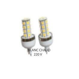 Ampoule led G9 blanc chaud