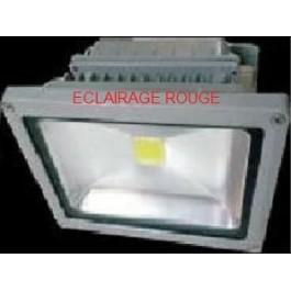 Projecteur led rouge 20W