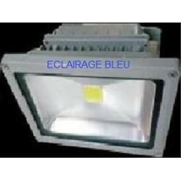 Projecteur led bleu 50W