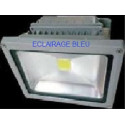 Projecteur led bleu 30W
