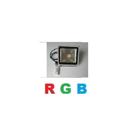 Projecteur led RGB 30W avec télécommande