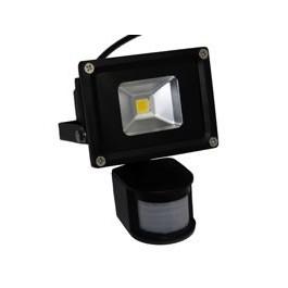 Projecteur LED 50W blanc chaud extérieur avec détecteur de mouvement