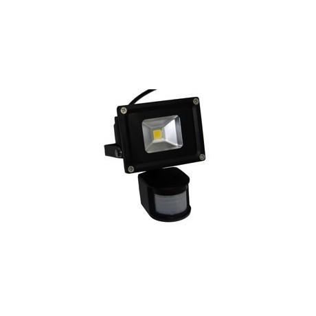 Projecteur LED 50W blanc chaud extérieur avec capteur de présence