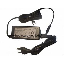 Alimentation LED 72W avec connecteur jack