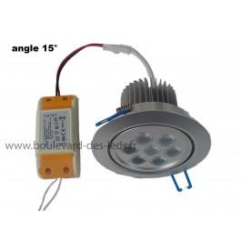 Plafonnier LED 7W 15°