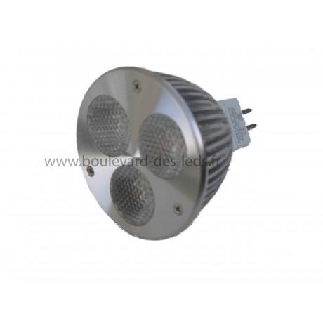 Ampoule led MR16 3*2 (6 watts)