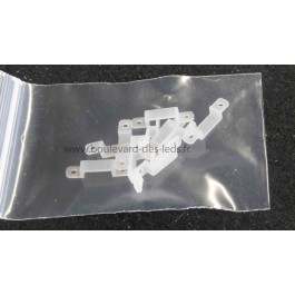 Cavalier silicone pour fixation bandeau led