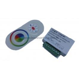 Contrôleur led 4 canaux RGB+Blanc chaud