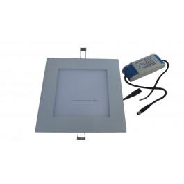 Plafonnier led 12 watts carré 20x20