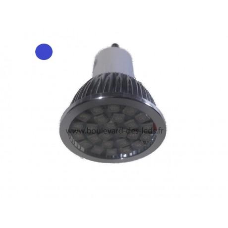 Ampoule led bleu GU10 25 smd 5050