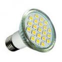 Ampoule led 21leds SMD 5050 3W BLANC CHAUD